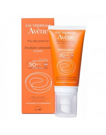 AVENE SPF 50+ EMULSION COLOREADA
